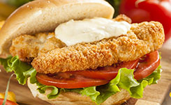 Breaded Fish Sandwich